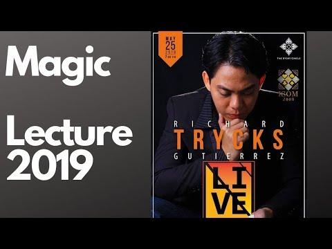 RICHARD TRYKS GUTIERREZ-MAGIC LECTURE 2019-TSC
