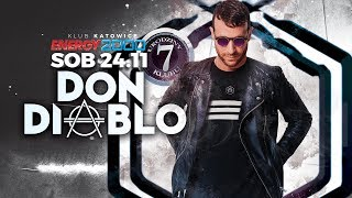 Don Diablo Energy2000 Katowice 24.11.18! Zapowiedź!