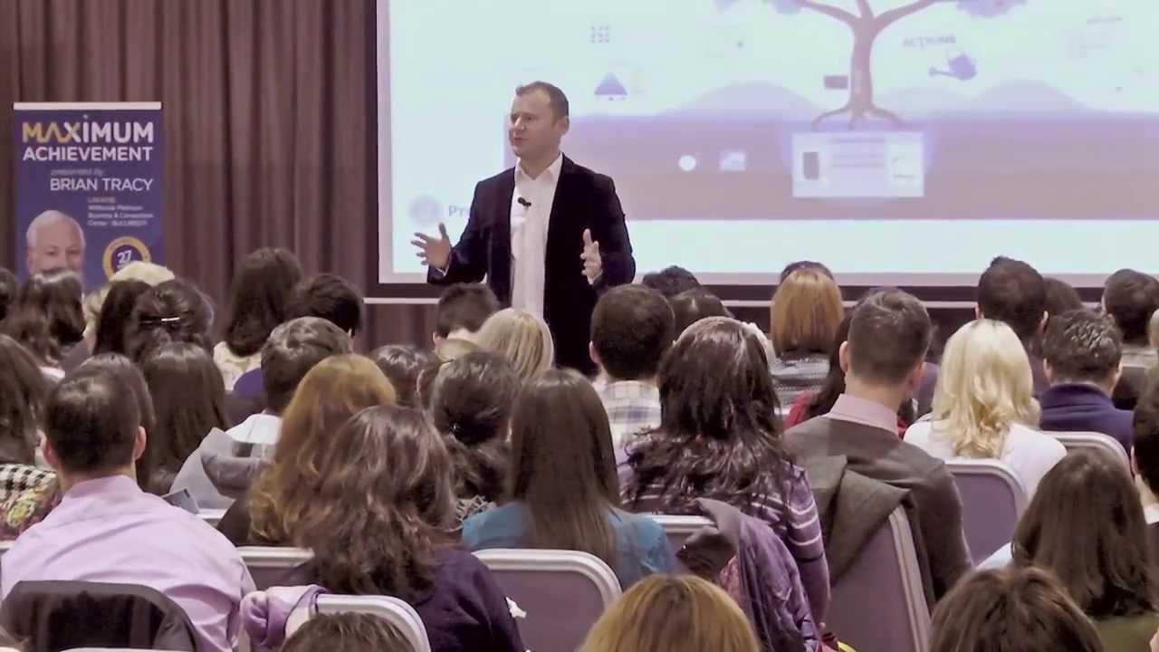 Lead Your Life -seminar gratuit de dezvoltare personala -Dragos Barbalata