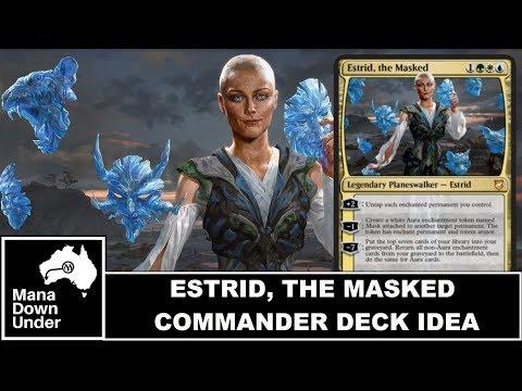 MTG Commander Deck Idea - Estrid, the Masked (Tier 1 Enchantment Commander?)