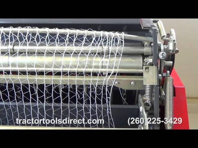 M50 Net Wrap Threading