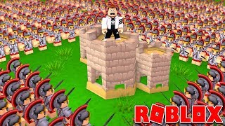 BUILD A CASTLE TO SURVIVE IN ROBLOX