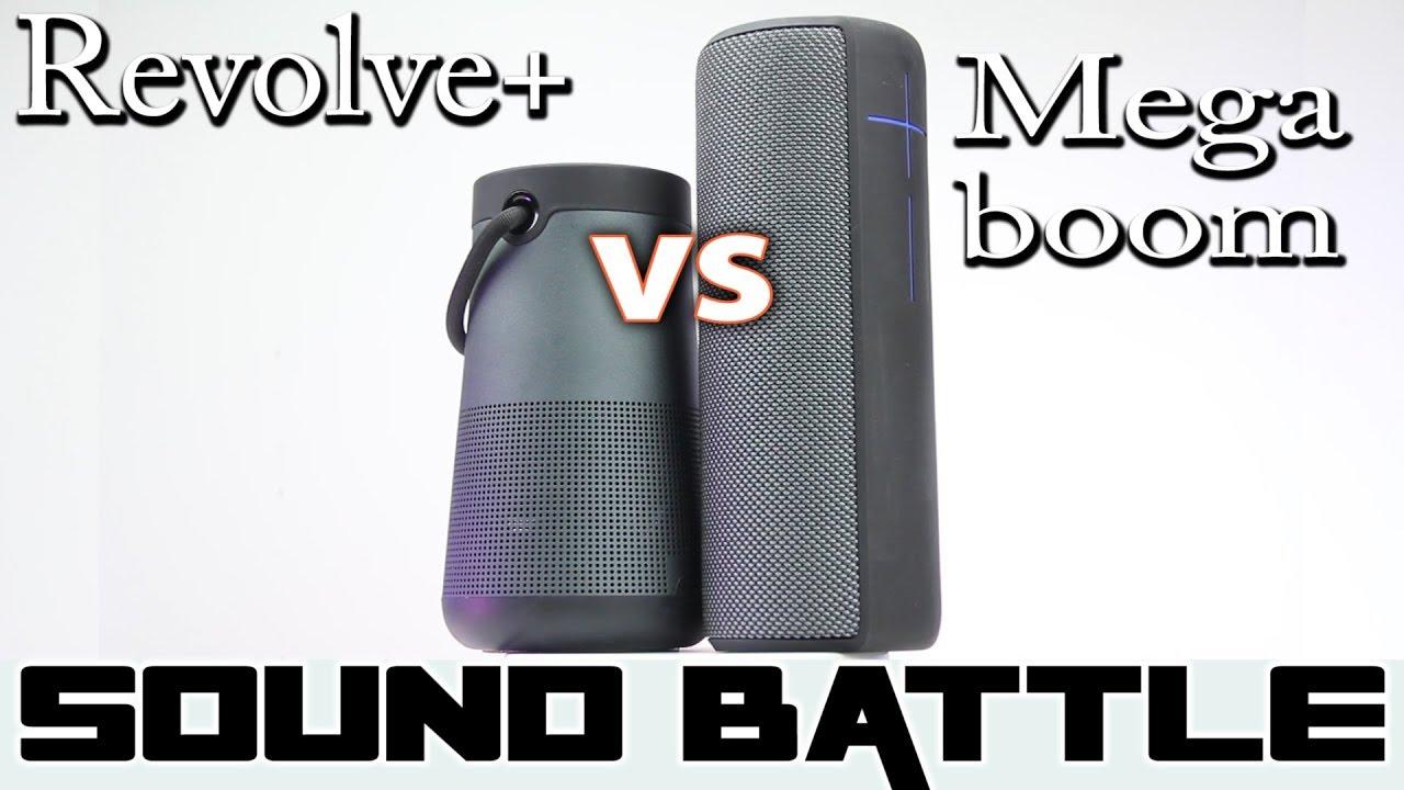 Bose Revolve+ vs UE Megaboom :SoundBattle