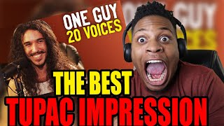 THE BEST ONE YET!!! One Guy, 20 Voices (Michael Jackson, Post Malone, Roomie & MORE) REACTION!!