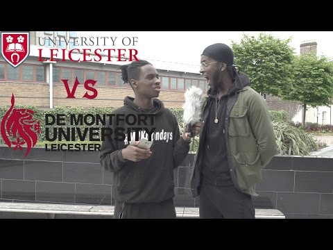 Asking Uni Students Simple Questions!!! DMU vs Leicester