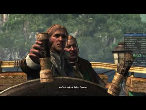 Assassin's Creed IV Any% Speedrun (6:11:27 RTA)