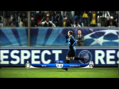 INTERNAZIONALE X JUVENTUS.F.C - 3 x 0 (SNEIJDER GOAL)UEFA