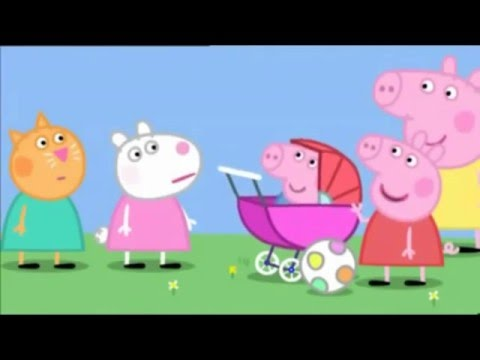 Peppa Pig English - The Baby Piggy  Full Episodes