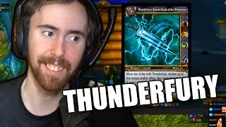 Asmongolds Reaction To Thunderfury Blessed Blade Of The Windseeker