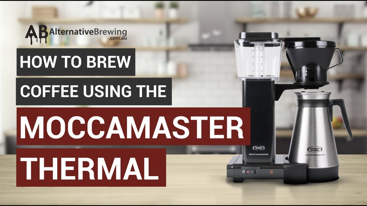 How To Brew Coffee Using the Moccamaster Thermal