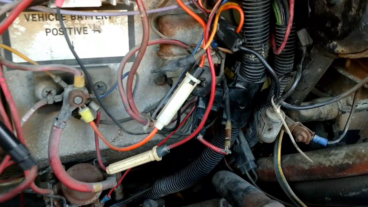 small resolution of oldsmobile 455 hei install