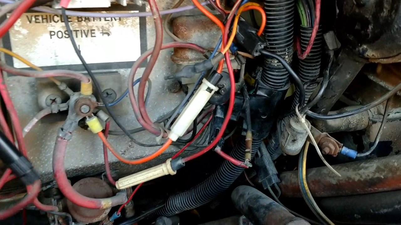 hight resolution of oldsmobile 455 hei install