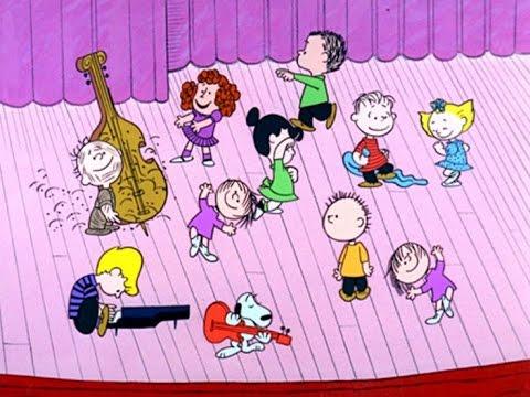 Peanuts Gang Singing