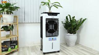 ✅VnReview - Đánh giá quạt điều hòa Rapido TURBO 6000-D: hỗ trợ cả lọc bụi, mùi và diệt khuẩn