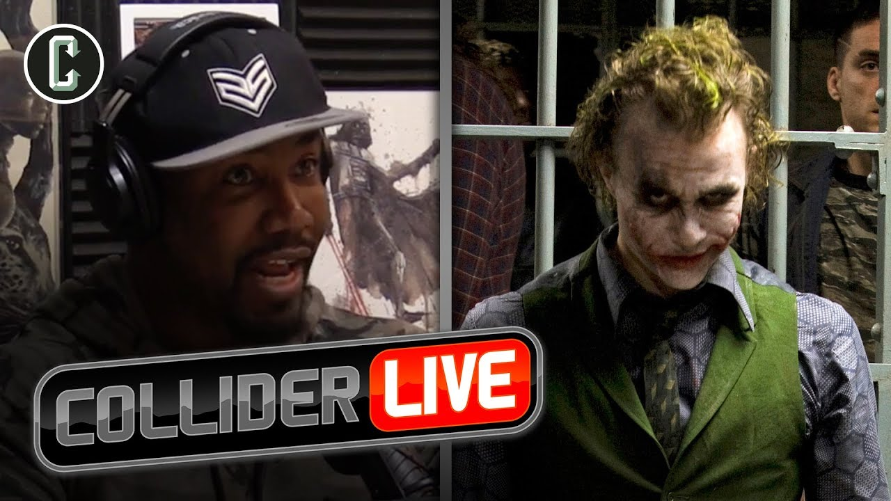 Michael Jai White Talks About How Heath Ledger Was On Set of The Dark Knight