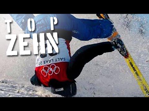 10 Winter Sport Fails! Feat. Ricardo!