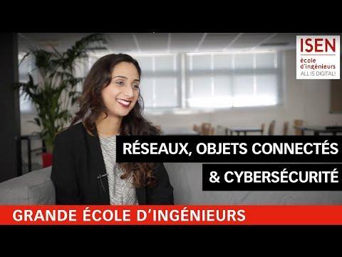 Myriam - Étudiante en Réseaux, communications mobiles et objets connectés à l'ISEN