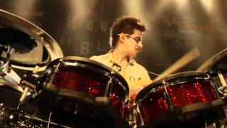 #05 Gabriel Guilherme from Brazil; V-Drums World Championship 2012