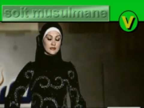 Islam , le foulard islamique 3 , défilé de mode