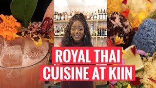 EXPLORING TORONTO | Royal Thai Cuisine at Kiin