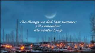 THE LETTERMEN - THE THINGS WE DID LAST SUMMER