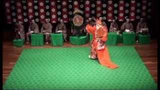 舞楽「陵王壱具1」~出手~  Bugaku Ryo-Oh(deru-te)