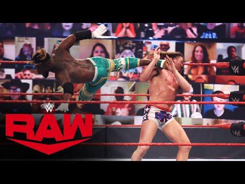 Kofi Kingston vs. Riddle: Raw, June 7, 2021