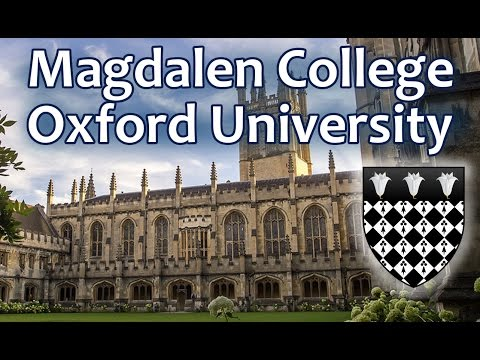 87[2/2] Магдален Колледж, Оксфордский Университет. Magdalen College, Oxford University. OxfordInside