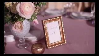 Нежная тюльпановая свадьба в замке