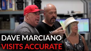 Dave Marciano at Accurate Fishing HQ