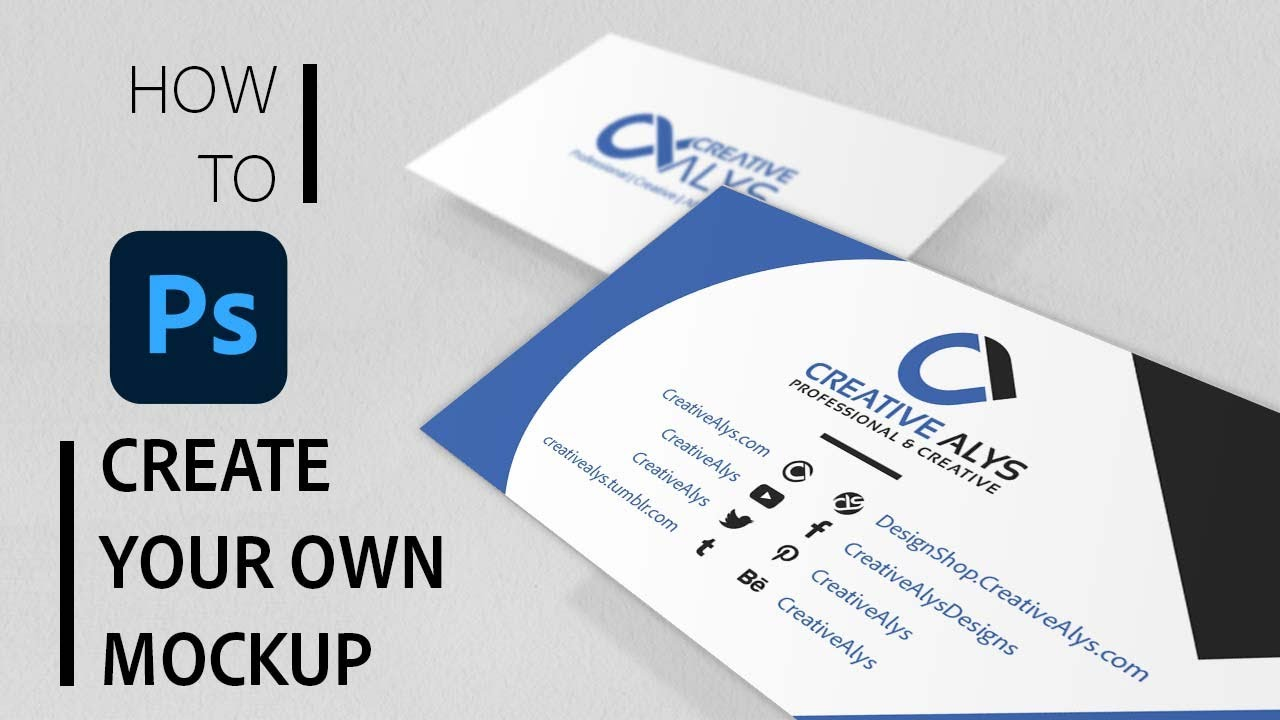 To acquire Stylish a create business card in photoshop pictures trends