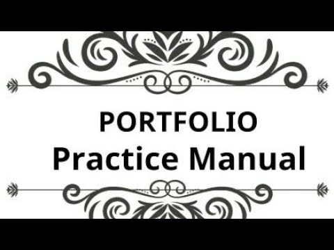 Portfolio, SFM, Practice Manual, CA Final Nov 2017-8/8