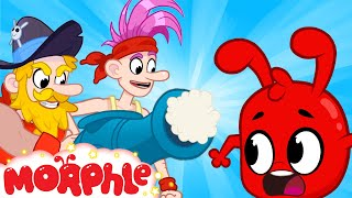 Land of the Pirates - Mila and Morphle | Cannons & Pirate Ships | Cartoons for Kids | Morphle TV