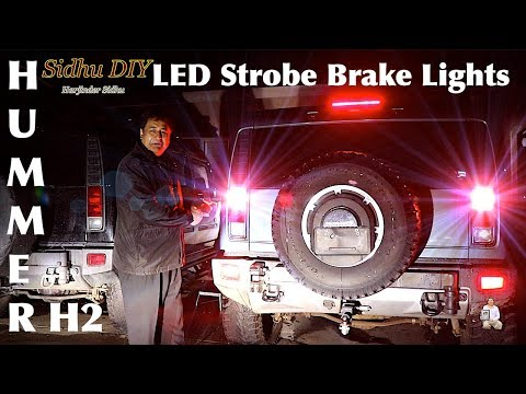 How To Replace, Upgrade HUMMER Tail Light Bulbs To LED Bulb