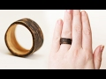 DIY Two-Tone Wooden Ring