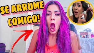 COLORI MEU CABELO DE ROSA!!! 😱😱 *SE ARRUME COMIGO*