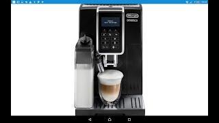 обзор Кофе-Машины Delonghi Dinamica ECAM 350.55.B (часть 1 - Меню)