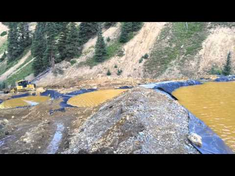 Contaminated water floods Animas River after Gold King Mine breach
