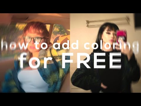 how to add coloring for free on videostar! easy and fast!