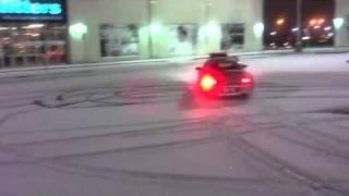 Porsche 996 C4S Fun In The Snow