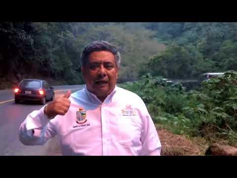 La SCT Recorren Con Autoridades Del Municipio De Teocelo Las Condiciones De Las Vías De Comunicación