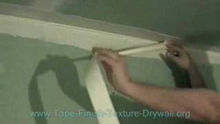 Tape Finish Texture Drywall