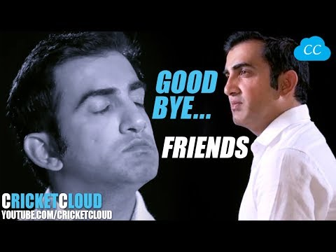 Gautam Gambhir's Good Bye | Emotional Retirement Full Video !!