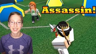 ROBLOX ASSASSIN TIPS AND TRICKS | CollinTV Gaming