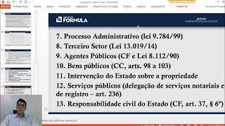 [CARTÓRIO SC] Como estudar Direito Constitucional e Administrativo