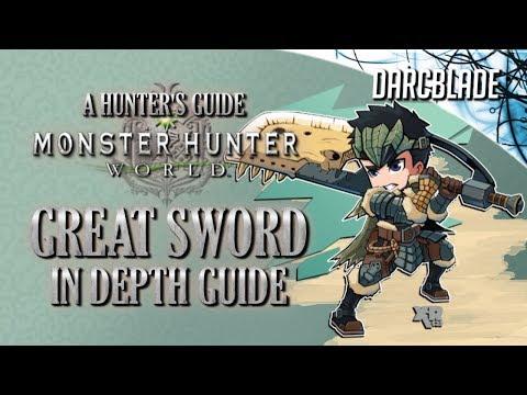Great Sword In Depth Guide : Monster Hunter World