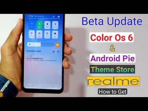 How to Get Color Os 6 & Android Pie, Theme Store Beta Update in
