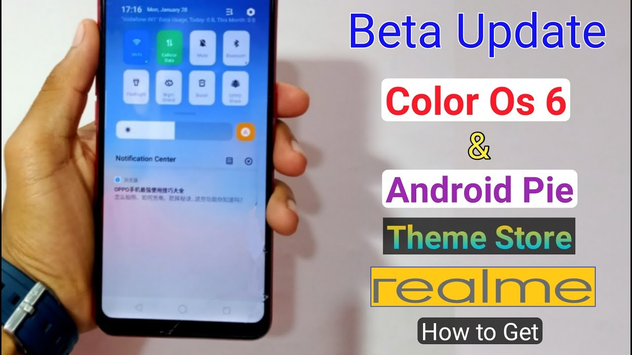 How to Get Color Os 6 & Android Pie, Theme Store Beta Update in RealMe 2 Pro