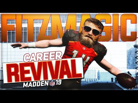 All or Nothing For FitzMagic! | RYAN FITZPATRICK MADDEN 19 CAREER REVIVAL