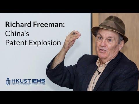 Richard Freeman: China's Patent Explosion (Lecture)